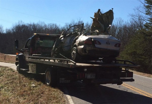 January 25 Wreck /  Hwy 157
