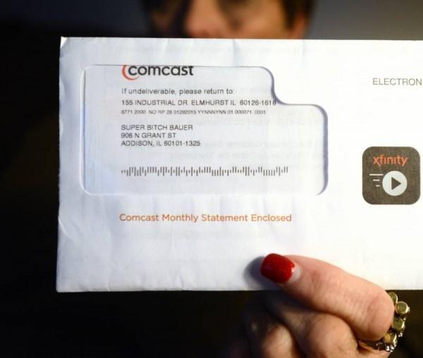 Comcast Super B--- Bill
