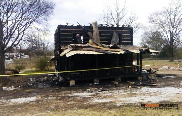 Chickamauga House Fire February 8