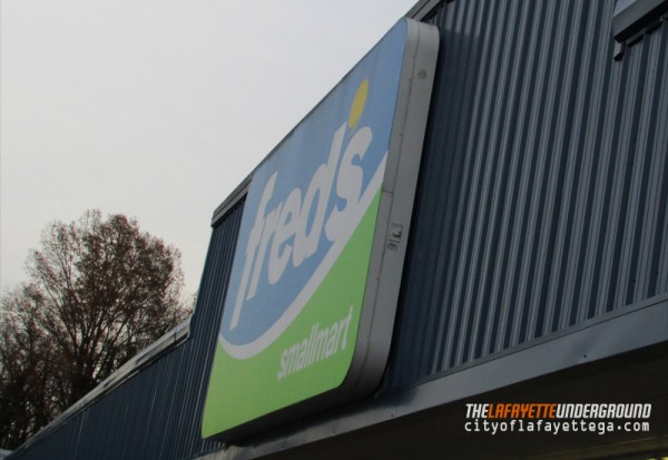 Freds Sign
