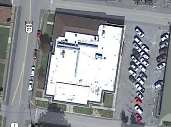Tax Office / Kitchens Clinic Satellite Photo