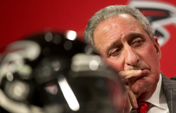 Arthur Blank and the Falcons