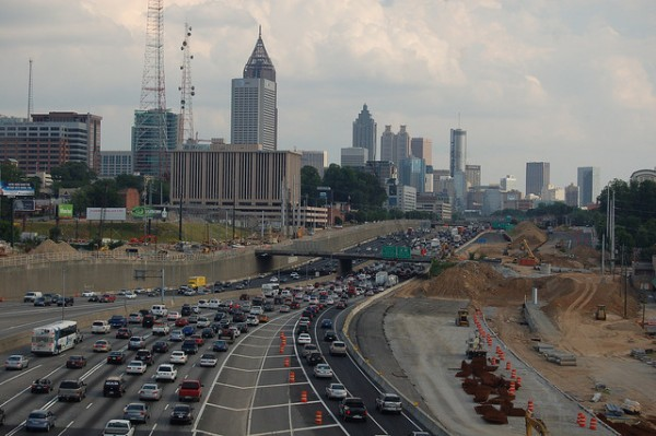 Atlanta Traffic Jam / Matt Lemmon on Flickr