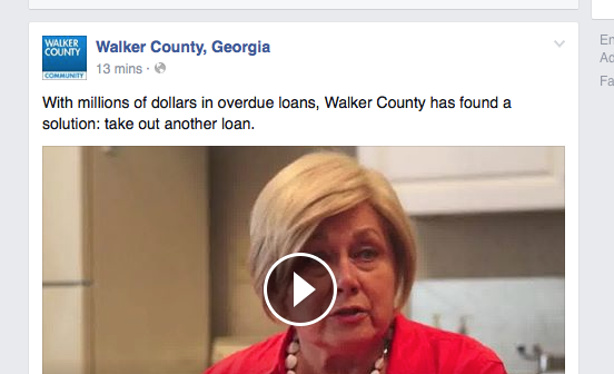 Walker Co Loan Headline / Bebe Takes Out Another Loan