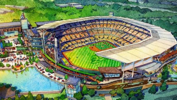 Proposed Braves Stadium