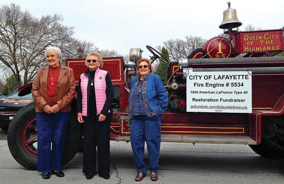 Fire Truck Restoration Donation