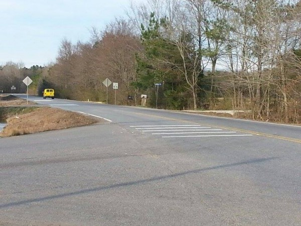 Hwy 151 / US 27 Intersection Rumble Strips