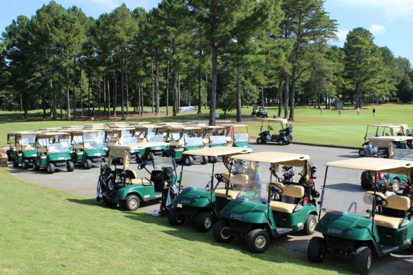 LaFayette Golf Course Golf Carts