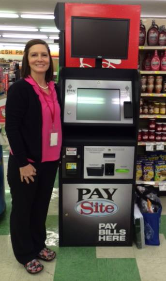 NGEMC Payment Terminal at Shop-Rite