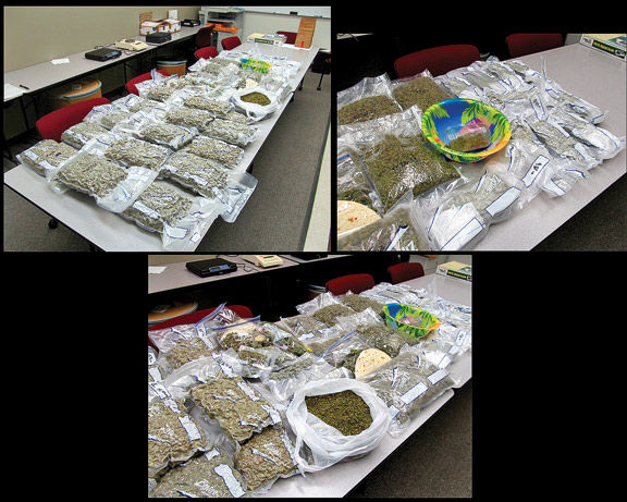 Ringgold Pot Bust / March 2015