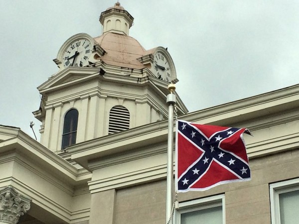 Chattooga Confederate Flag