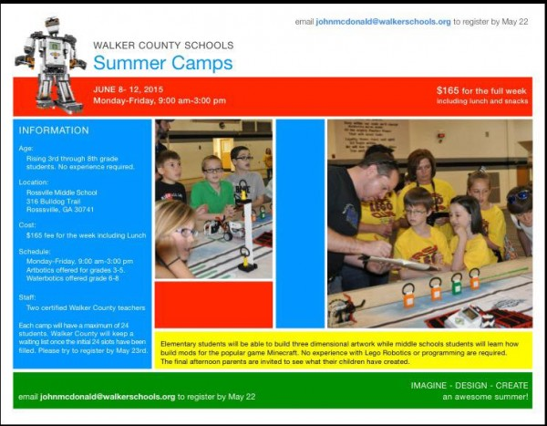 Walker Schools Summer Camp
