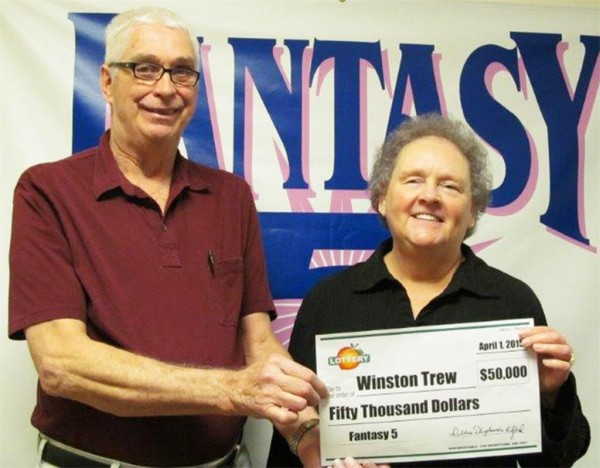 Winston Trew / Lotto Winner