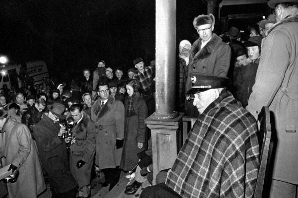 Civil War Vet Albert Woolson in 1954 / Mashable - Life - Getty Images