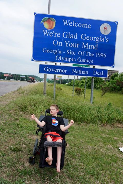 Nathan Deal Facebook / Disabled Helped by Cannabis Law?