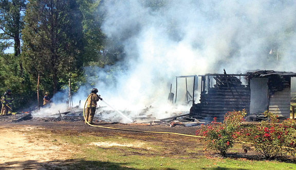 May 22 Flora St House Fire / Walker County Messenger