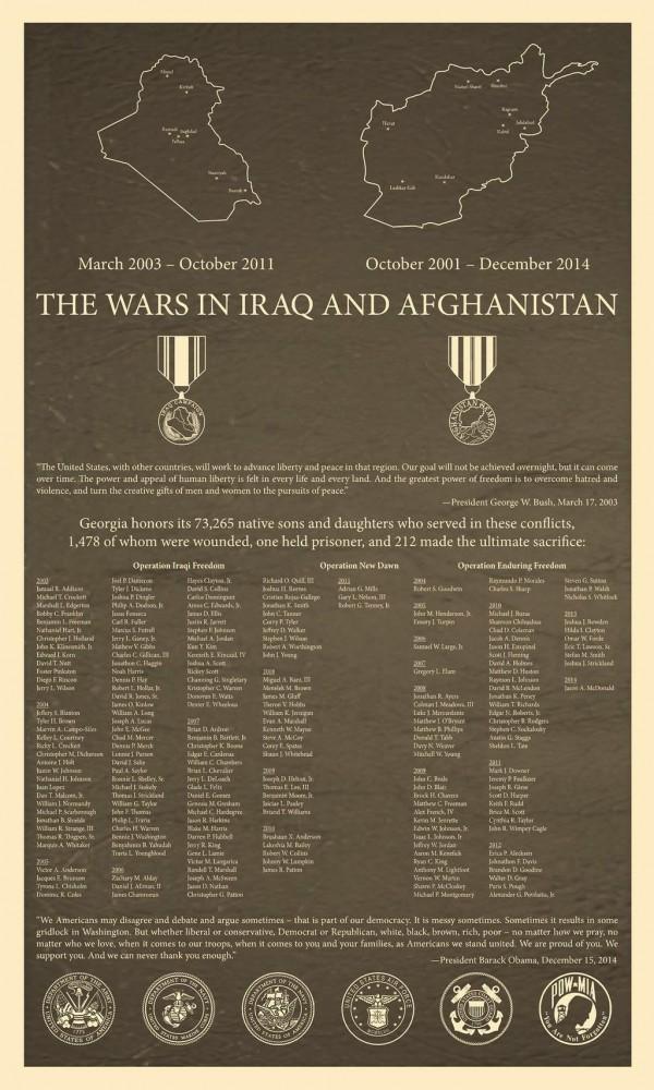 GA Iraq / Afghan War Memorial
