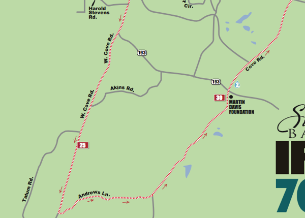 Ironman 70.3 Route