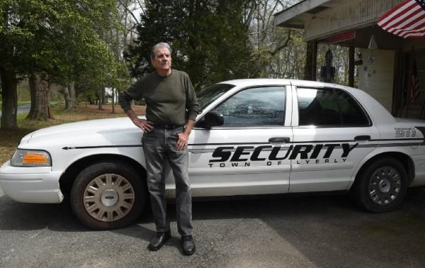 Town of Lyerly Security - John Jones / Times Free Press