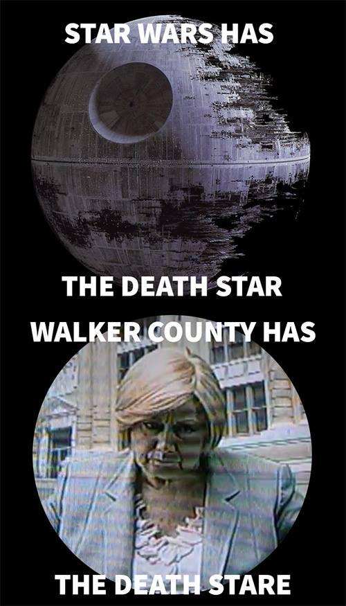 Bebe Memes / Walker County Death Stare