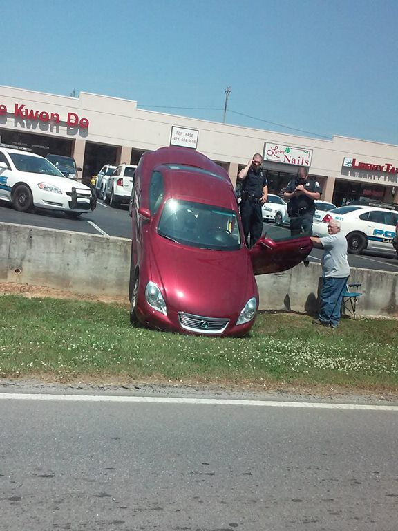Wreck at Walmart / Tae Kwon Do May 9 2015