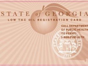 GA Cannabis Oil Card