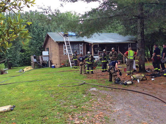 May 31 House Fire on York Rd / Walker County Messenger Josh OBryant