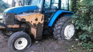County Road Tractor Vandalism / Facebook