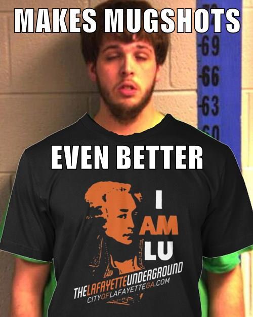 LU T-Shirt Mugshot