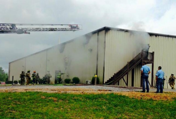 Corinth Church Fire / July 5