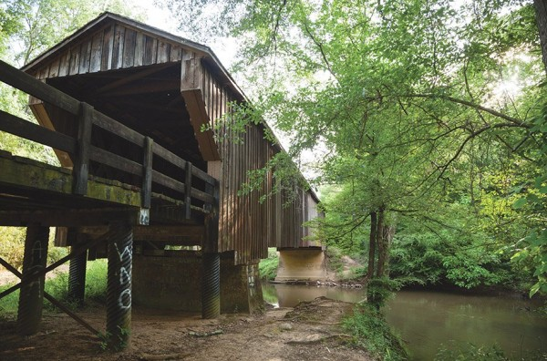 Horace King Covered Bridge / Atlanta Magazine