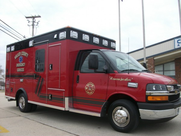 Walker EMS Service Ambulance