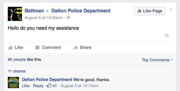 Dalton Battman on Facebook