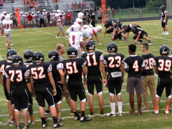 LHS / LFO Football Scrimmage August 14