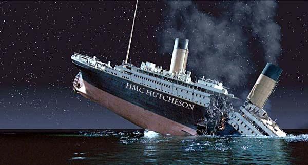 Hutcheson Titanic Sinking