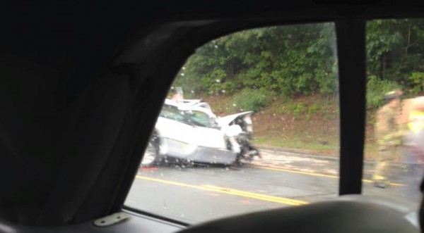 Wreck at Kay Conley and 27 - August 17
