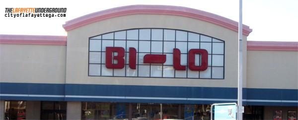 Bi-Lo LaFayette Exterior