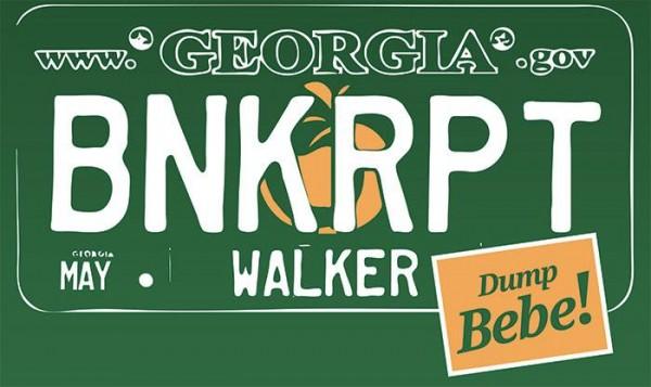 Walker BNKRPT Green Shirt Design