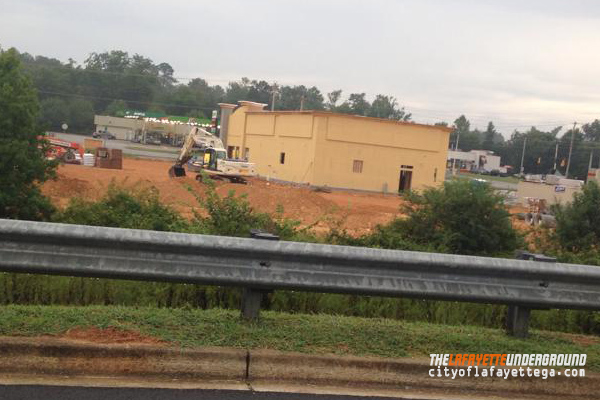 Bojangles Under Construction