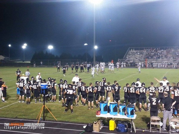 Ramblers vs. Gordon Lee Trojans September 4 2015
