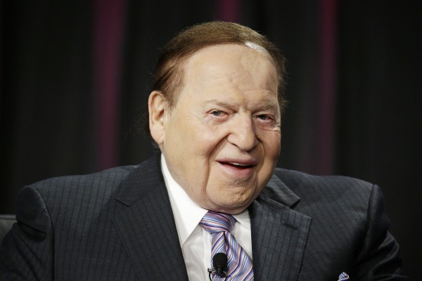 Sheldon Adelson of Sands Casino
