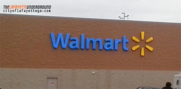 Walmart LaFayette Sign