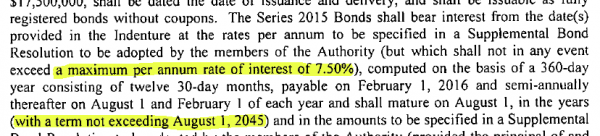 WCDA Bond Proposal Page 16 Excerpt