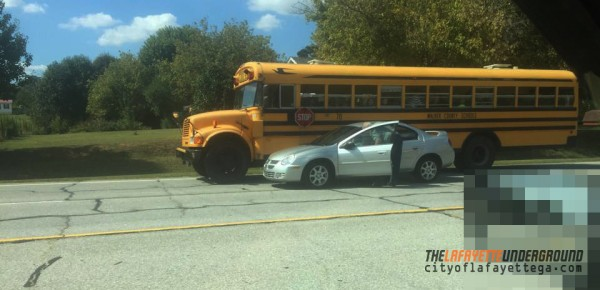 School Bus 70 Accident / 27 at Bell Rd in Noble