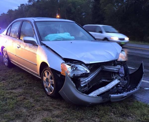 Wreck at Saddle Ridge / September 29