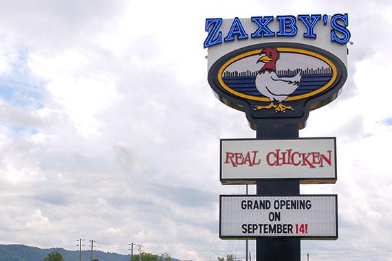 Zaxby's in Ringgold / Catt.com