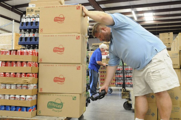 Ralph Hibbs at Five Star Foods in Ringgold / Tim Barber Times Free Press
