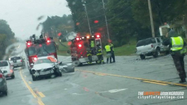 Wreck in Rock Spring / Noble near Bell Rd October 26 2015