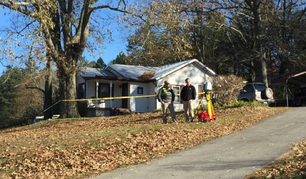 Kemp Rd Denson Murder Crime Scene / Times Free Press
