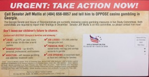 Faith & Freedom Coalition / Casino Rip-Off Mullis Mailer